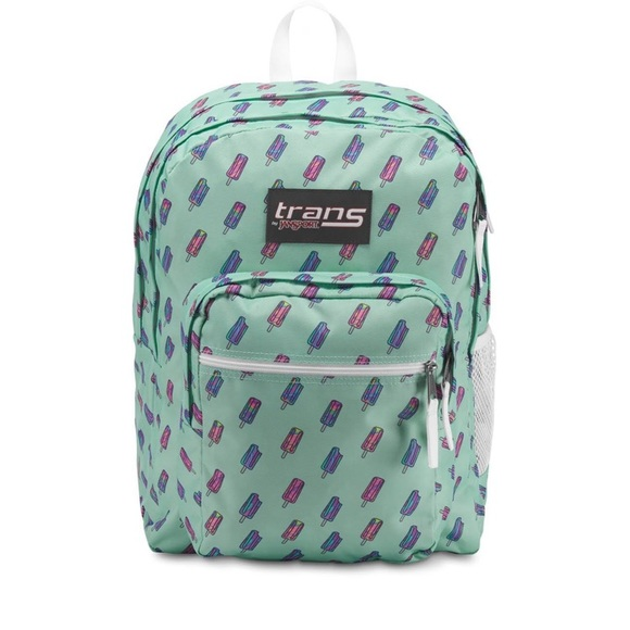 Trans Jansport brook green brain freeze backpack NWT